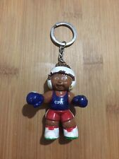 Vintage 1980's RARE Cabbage Patch Kids Doll Key Ring Chain Boxing Toy Figure
