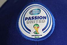 Brasil FIFA World Cup 2014 Blue Passion United Bud Light Adjustable Hat Brazil