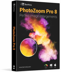 PhotoZoom Pro 8 for Win and Mac OS - New Retail Box