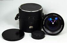 vivitar 20mm f3.5 weitwinkel minolta md mc lens with cap & hat case punkte