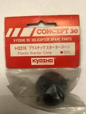 kyosho CONCEPT 30 PLASTIC STARTER CONE H3216 FOR NITRO POWERED HELICOPTER -SPARE