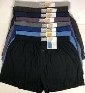 New Style PK 6 Mens Cotton Underwear Boxer Shorts Undies Underpants Trunks Boxer