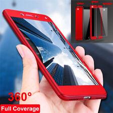 Para Huawei P20 Lite Pro P Smart 360° Protección Completo Funda carcasa Híbrido