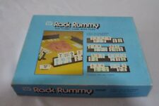 Rack Rummy Game with tiles Whitman  #4819 ages 12+ 2-4 players vintage