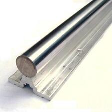 Arbre sur rail de soutien 25 x 1000mm acier traité rectifié guidage EXM-SBR25100