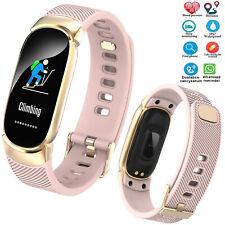 Smartwatch Fitness Tracker Bluetooth Smart Bracelet For Women Samsung J6 J7 J8