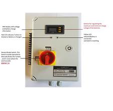 Regolatore di carica ibrido eolico Istapower 12V-24V -48V 800-1000-2000 W.