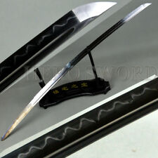 Offer Customize Service Japanese Samurai Sword Blade Clay Tempered T1095 Steel