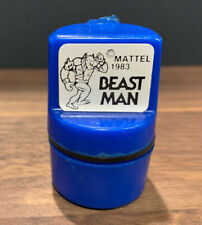 """He-Man / Masters of the Universe """"Beast Man"""" Vintage 1983 Mattel Rubber Stamp"""