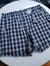 New Polo Ralph Lauren Men's Classic Fit Cotton Boxers Xl Extra Large Checkered