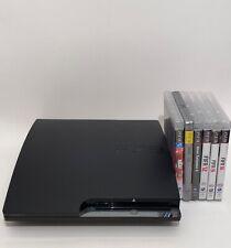 Sony PlayStation 3 Slim  mit Spielen & Kabel