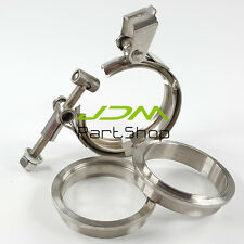 Quick Release V Band Clamp Kit ID 3.0 inch 76mm Stainless Steel exhaust downpipe