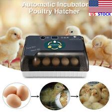 Intelligent Digital Fully Automatic Incubator Hatching Chicken Duck Egg Turkey