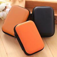 Hard Case Pouch Storage Bag For Earphone Headphone Earbuds Cable Disk Portable