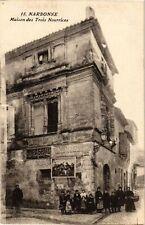 CPA Narbonne-Maison des Trois-Nourrices (261455)