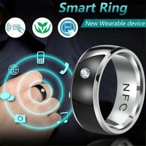 Fashion Men Ring New Technology NFC Smart Finger Digital Smart Ring for Android