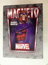 MARVEL BOWEN MAGNETO BUST LOW#24/600 MIB X-MEN RAR(GOLD BLUE UNCANNY ASTONISHING