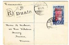 Cameroun French Occupation-Sc#146-HiValue (single frank)-Duala 13/1/19