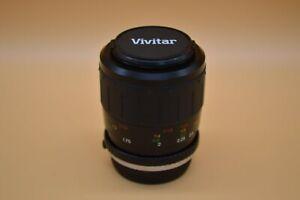 Vivitar F3.5 100mm Camera Lens