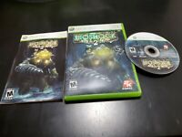 BioShock 2 (Microsoft Xbox 360, 2010) COMPLETE! TESTED! MINTY DISC!