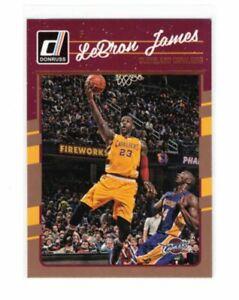 NBA - LeBRON JAMES With KOBE- 2016-17 Donruss #15 - Cleveland Cavs - HOT CARD !!