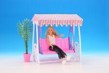 New Gloria Dollhouse Furniture Garden Swing Playset (98016)