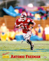 Super Bowl Champion Antonio Freeman Autograph Signed Rookie Photo COA SN Packers