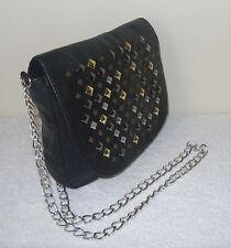 Material Girl Black Beaded Shoulder Bag