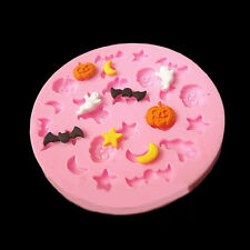 Hot Charm Halloween Theme Trick Silicone Fondant Mold Mould Cake Chocolate Decor