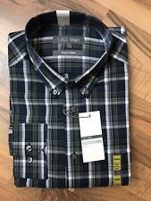Marks And Spencer Large Check Shirt Longsleeve New BNWT