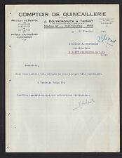 """ARRAS (62) QUINCAILLERIE & ART MENAGER """"J. DOUTREMEPUICH & THIBAUT"""" en 1950"""