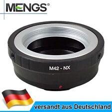 MENGS M42-NX Objektiv Mount Adapter für M42 Objektiv auf Samsung NX10 NX5 Kamera