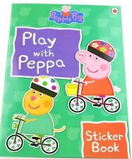 Peppa Pig ~ PLAY WITH PEPPA STICKER BOOK LADYBIRD BOOK Activities & Stickers