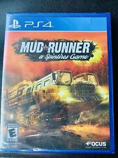 MUDRUNNER A Spintires Game (PlayStation 4 PS4) NIB NEW Factory Sealed Free Ship
