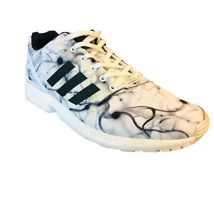 Adidas ZX FLUX Torsions Men's Originals Shoes Sneakers White B24392 Size 13 GUC
