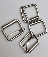 Open Frame Roller Belt Buckles Vintage American Retro Classic