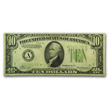 1934 (A-Boston) $10 FRN VF (Star Note)