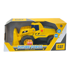 CAT Future Force Wheel Loader Lights & Sounds Ages 3+ Construction Toys NEW