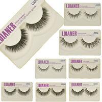 100% Real Mink Thick Natural False Eyelashes Makeup Fake Eye Lashes Extension