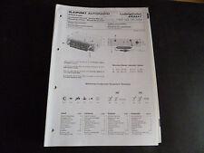 ORIGINALI service manual BLAUPUNKT AUTORADIO Ludwigshafen arimat