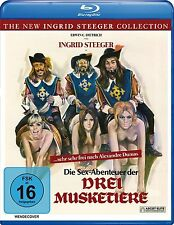 The Sex Adventures of the Three Musketeers - Blu-Ray Disc -