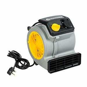 Vacmaster Air Mover Floor/Carpet/Wall Dryer & Cooling Fan | Powerful 3-Speed,