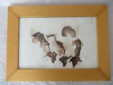 Isis Olivier (granddaughter Laurence Olivier) Ink on Paper Abstr Animal Artwork