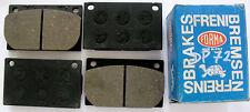 SERIE PASTICCHE FRENO(BRAKE-PADS)ANT VOLVO 121-123 GT-131-133-142-144  DP 72