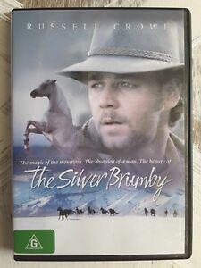 THE SILVER BRUMBY DVD Russell Crowe 1993 HORSE AUSTRALIAN MOVIE - Region 4