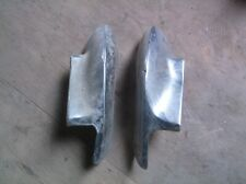 1972 Lincoln Mark IV, Continental, Right and Left Front Bumper Ends