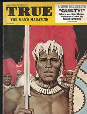 True Magazine March 1954 Major Holohan Headhunter Cover