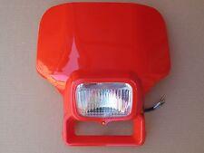New Honda XR 200 250 350 400 500 600 Red Flash Headlight