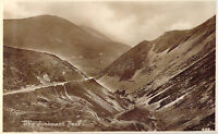 Vintage Welsh Sychant Pass Conwy Real Photo Vintage Postcard unposted Wales