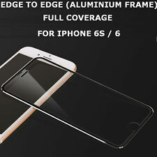 Genuine Tempered Glass Screen Protector Edge to Edge Black for Apple iPhone 6s/6